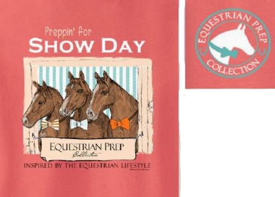 Stirrups Show Day Short Sleeve Tee - Kids