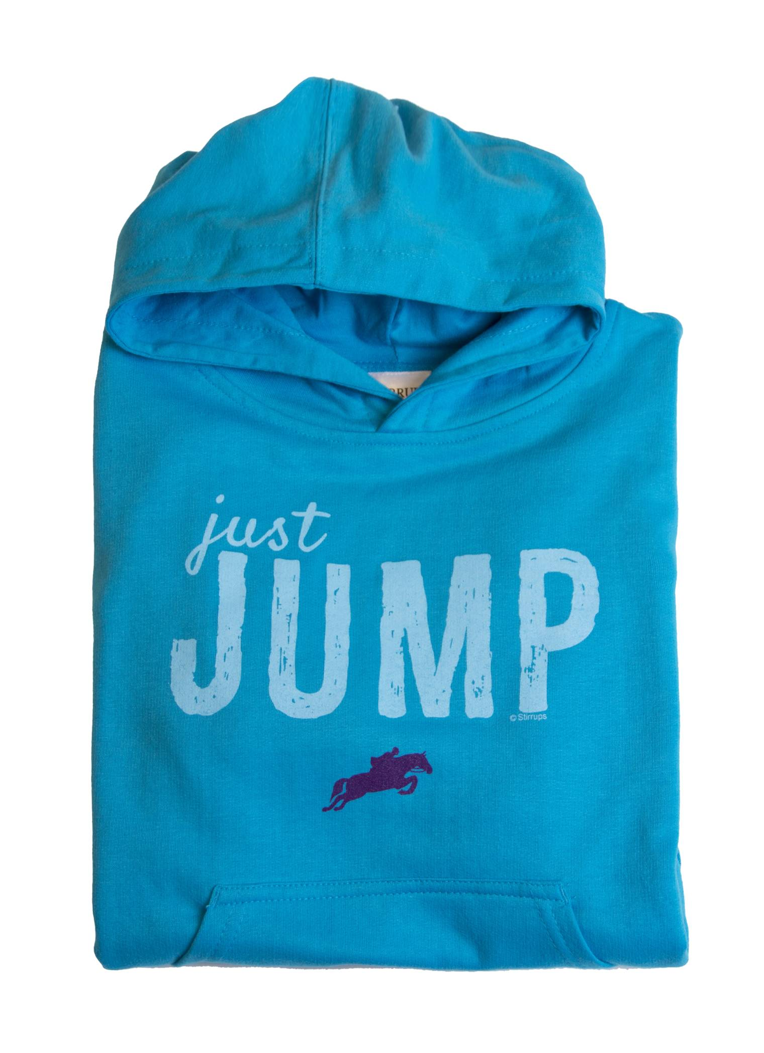 Stirrups Just Jump Fleece Hooded Sweatshirt - Kids