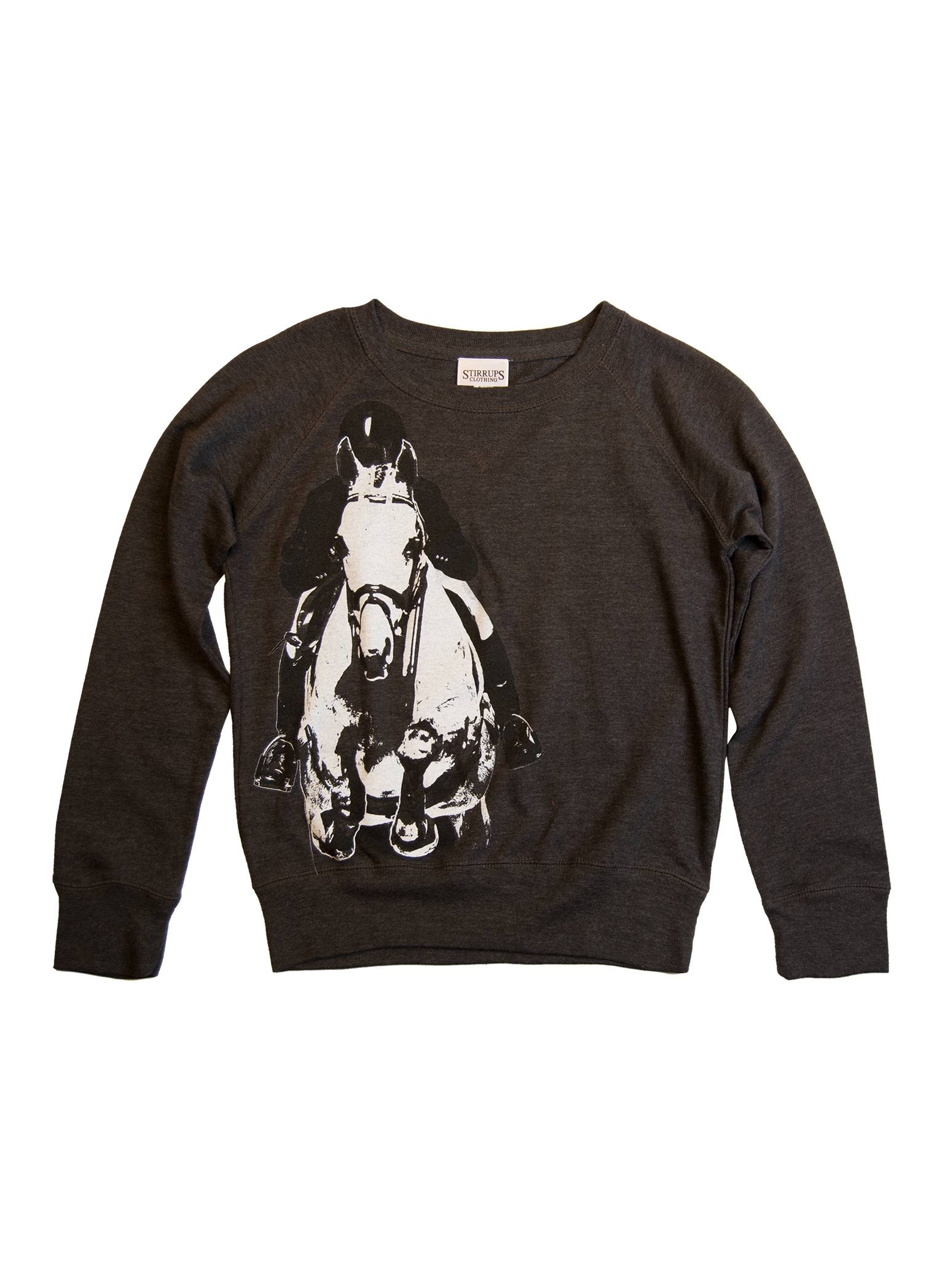 Stirrups Classic Jumper Terry Crewneck Sweatshirt - Kids