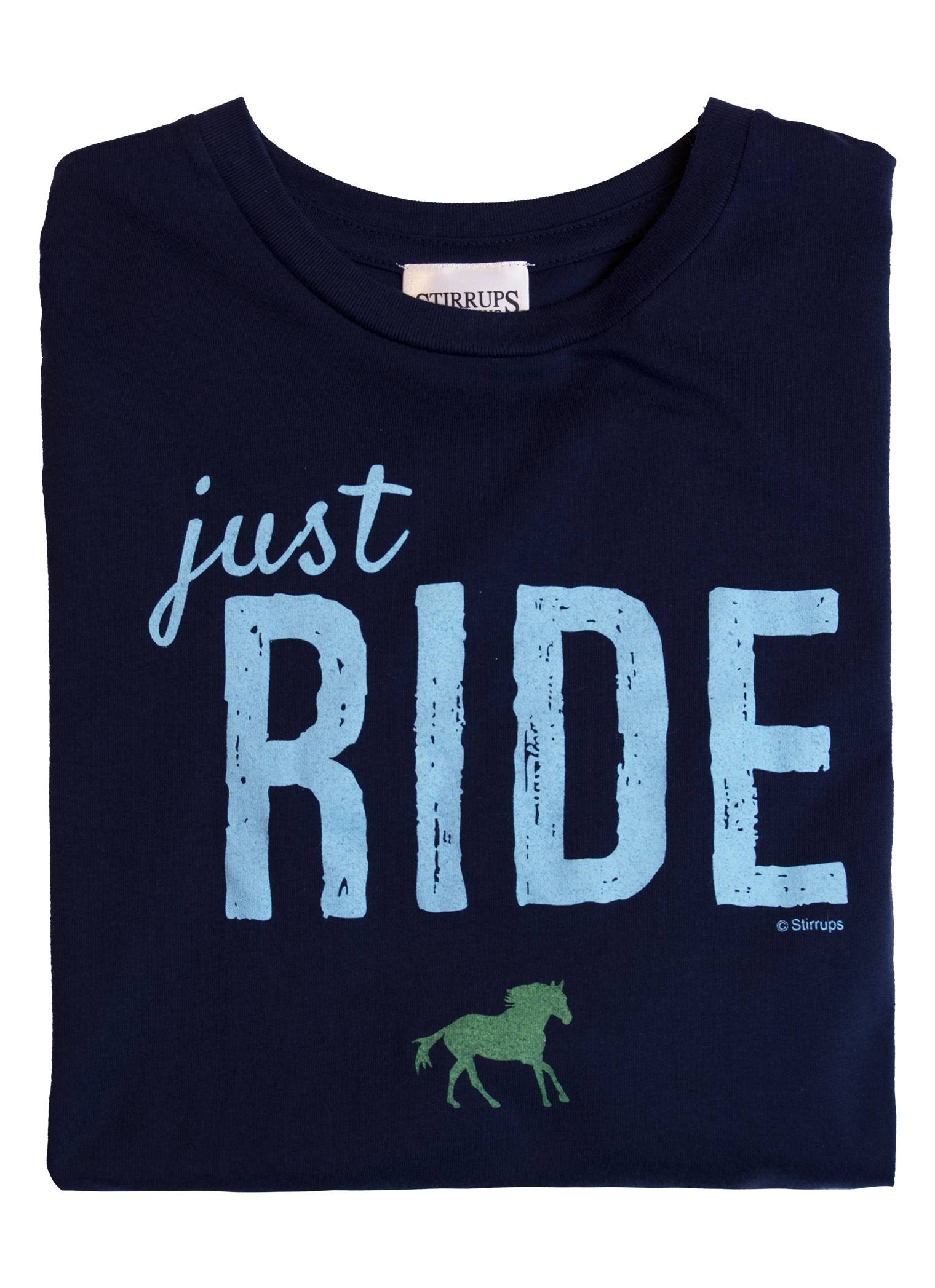 Stirrups Just Ride Long Sleeve Jersey Tee - Kids