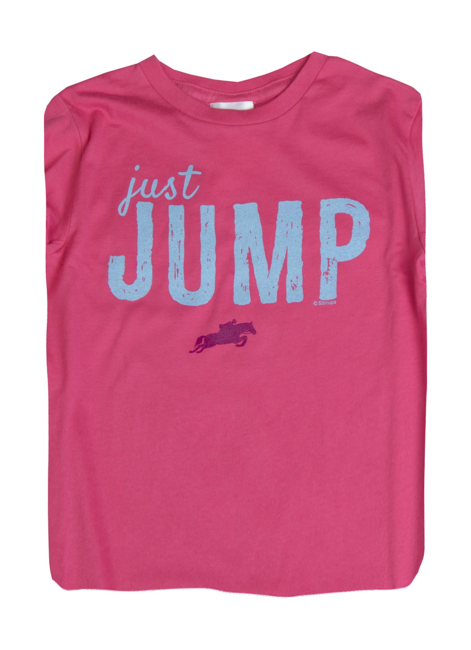 Stirrups Just Jump Long Sleeve Jersey Tee - Kids