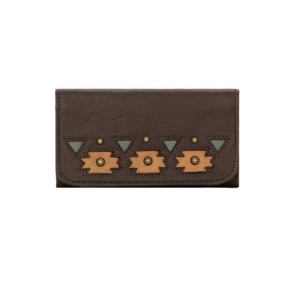 American West Chenoa Tri-Fold Wallet-Ladies