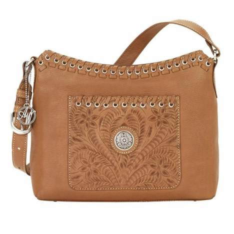 American West Harvest Moon Zip Top Shoulder Bag