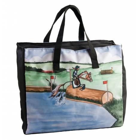 Whimsical Cross Country Stick Horse Tote