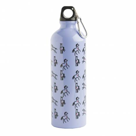 Heart Horse Aluminum Sports Bottle