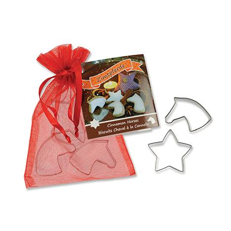 Cookie Cutter Set - Mini Horse Heads And Mini Star