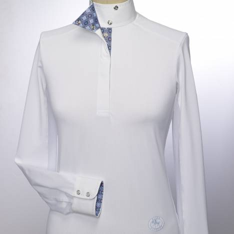 Essex Classics Flora Pick Stitch Talent Yarn Shirt - Ladies