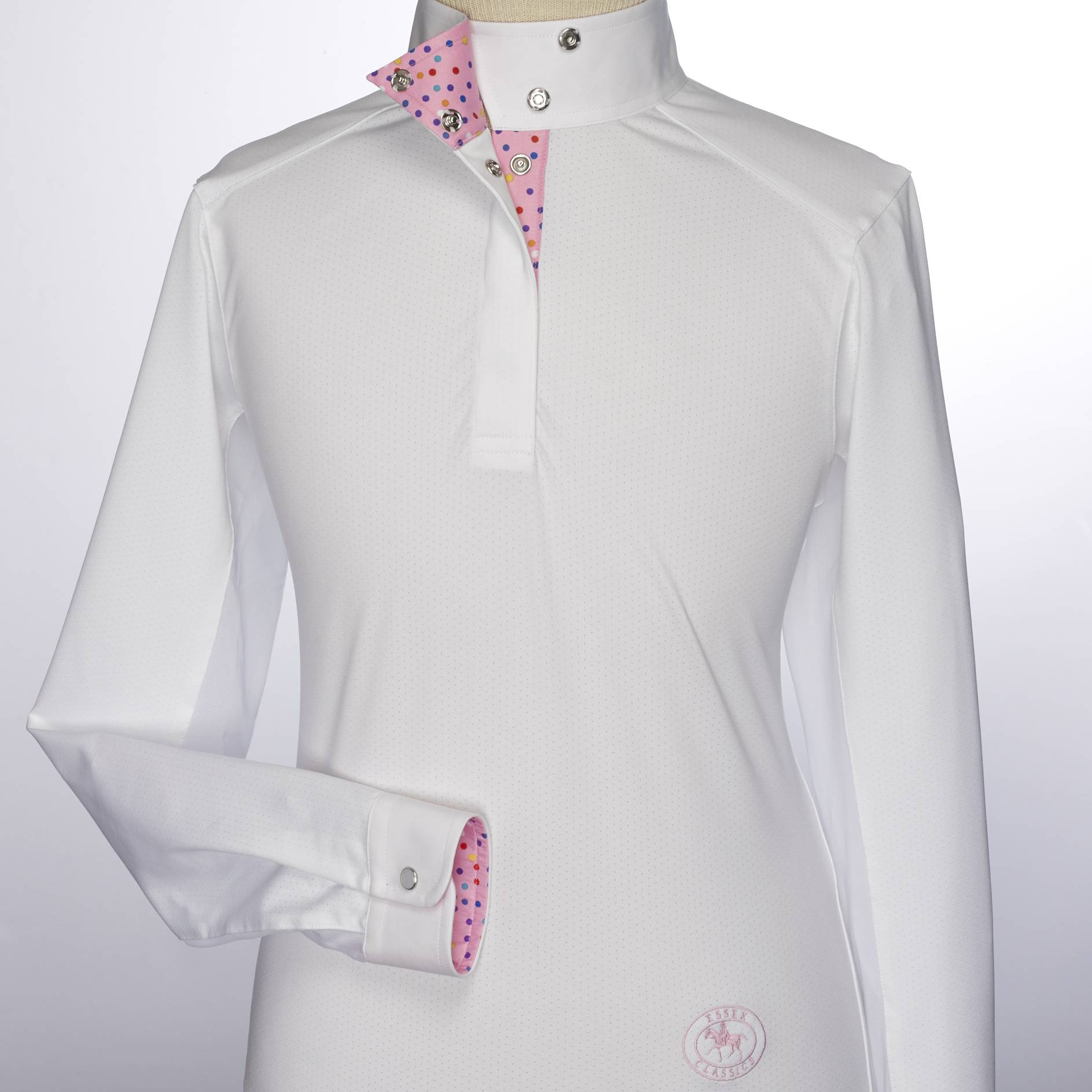 Essex Classics Pallini Talent Yarn Wrap Collar Shirt - Girls