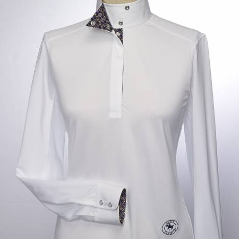 Essex Classics Zilla Talent Yarn Wrap Collar Shirt - Ladies