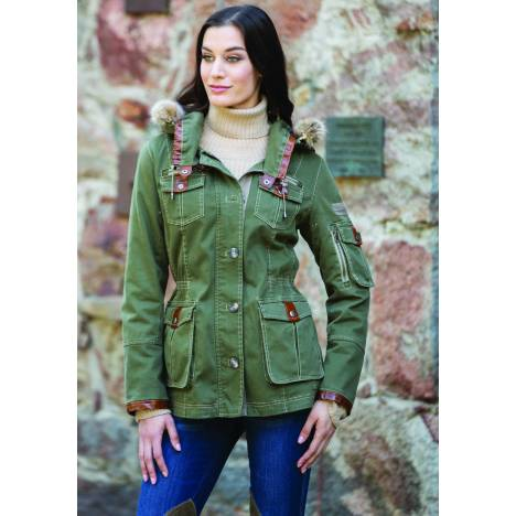 Goode Rider Military Jacket- Ladies