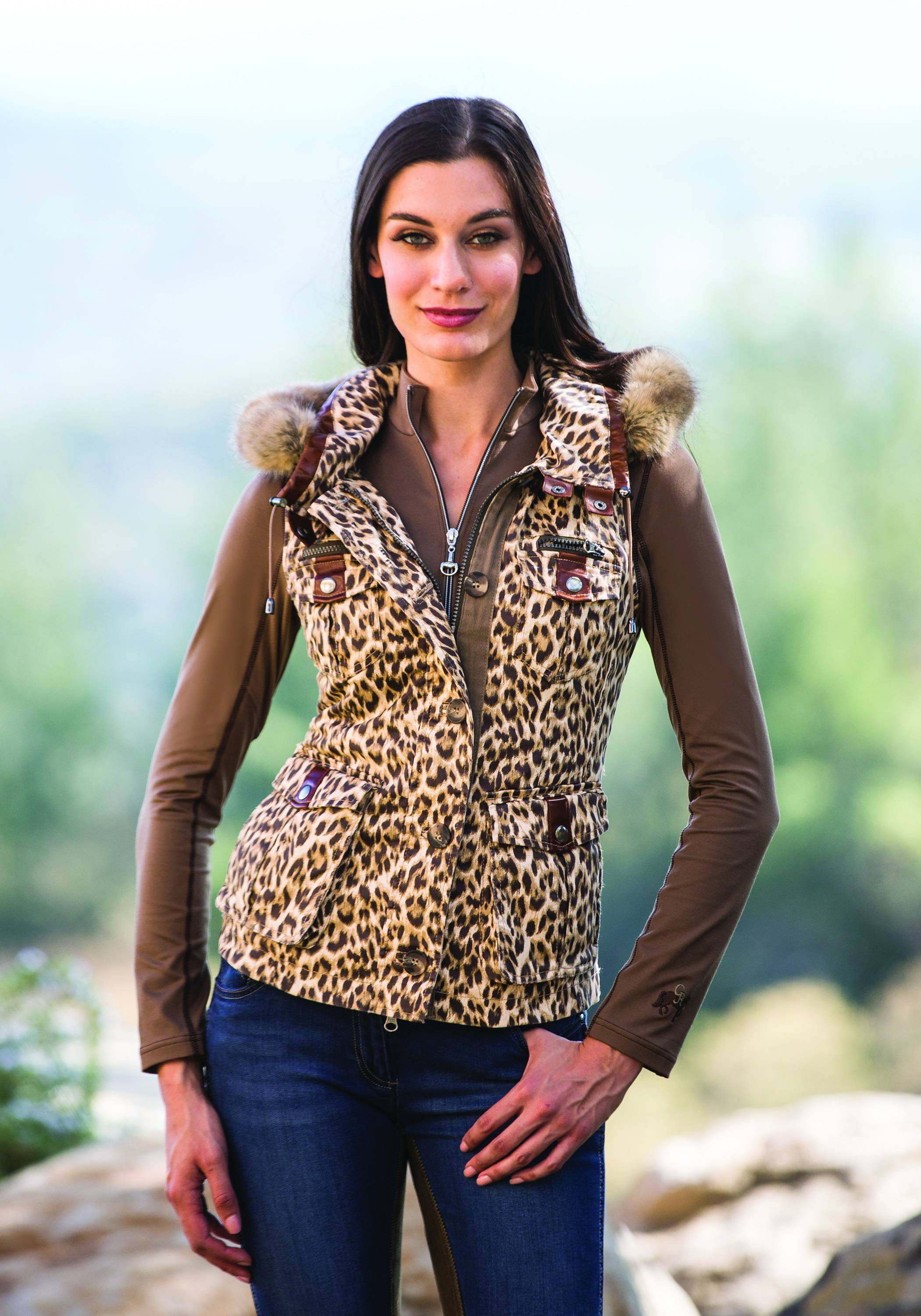 Goode Rider Military Vest- Ladies