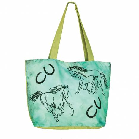 WOW Canvas Tote Bag - Family Mare and Foal