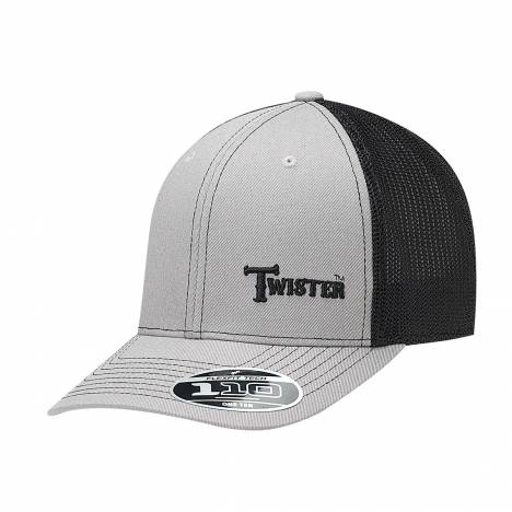 Twister Text Flex Fit Contrast Stitch Cap - Mens