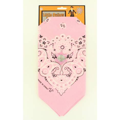 Little Outlaw Kids Bandana And Badge Set