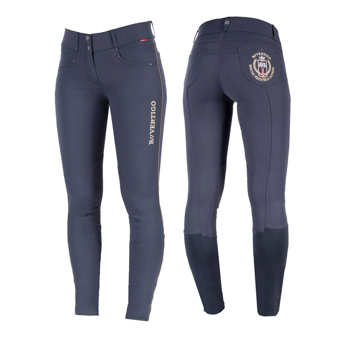 B Vertigo Kimberley Knee Patch Breeches - Ladies