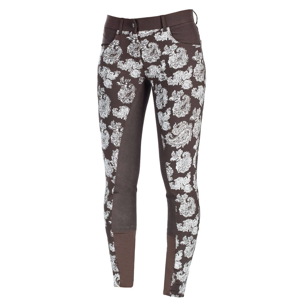 Horze Crescendo Cara Printed Full Seat Breeches - Ladies