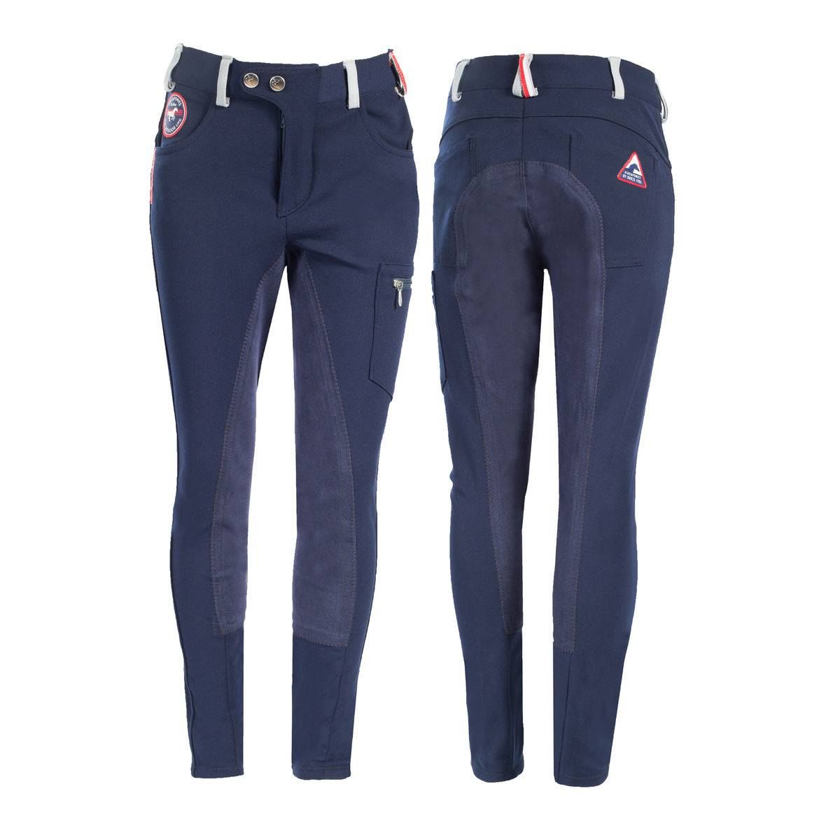 Horze Mackenzie Full Seat Cargo Breeches - Kids