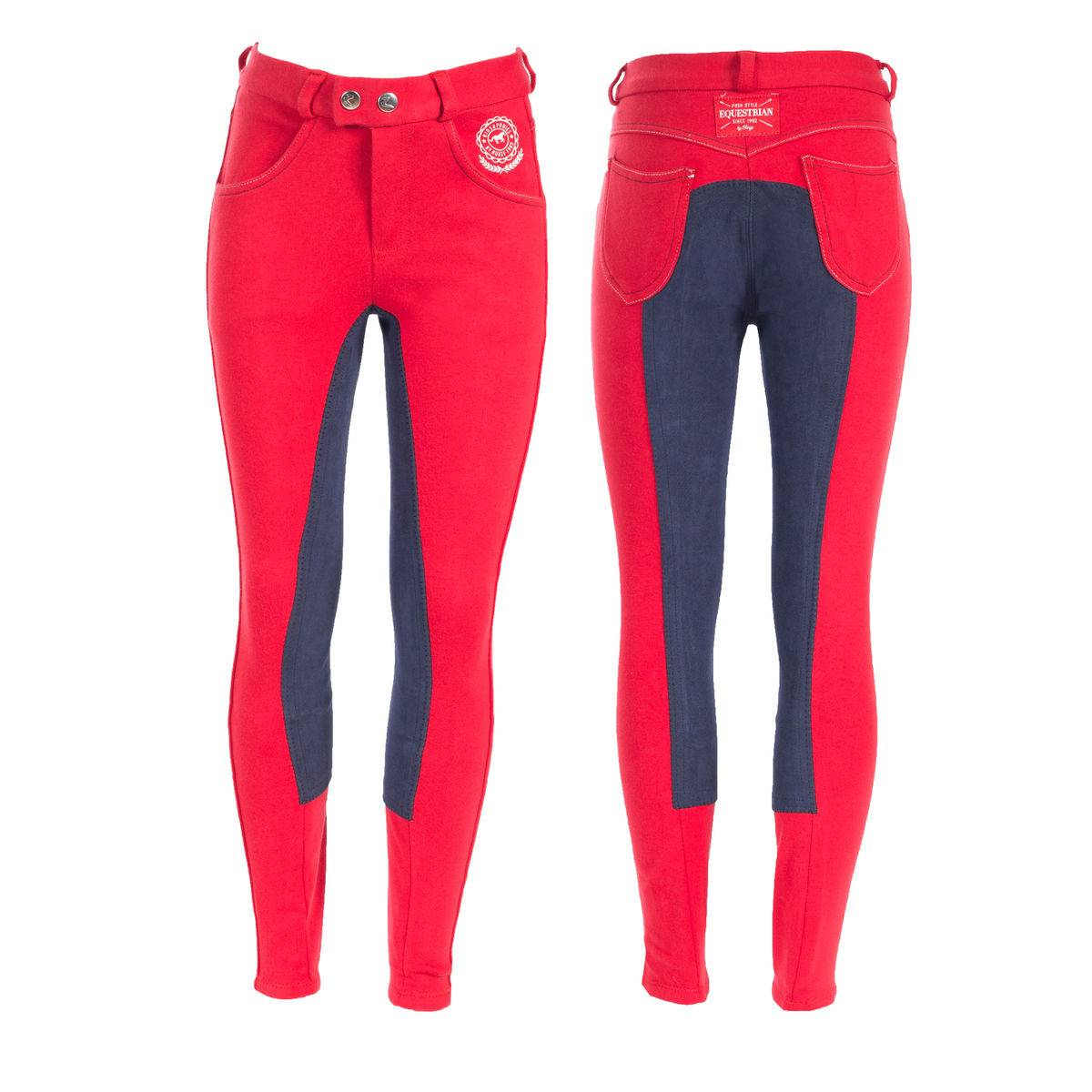 Horze Kids & Ponies Jen Jr Full Seat Breeches - Kids