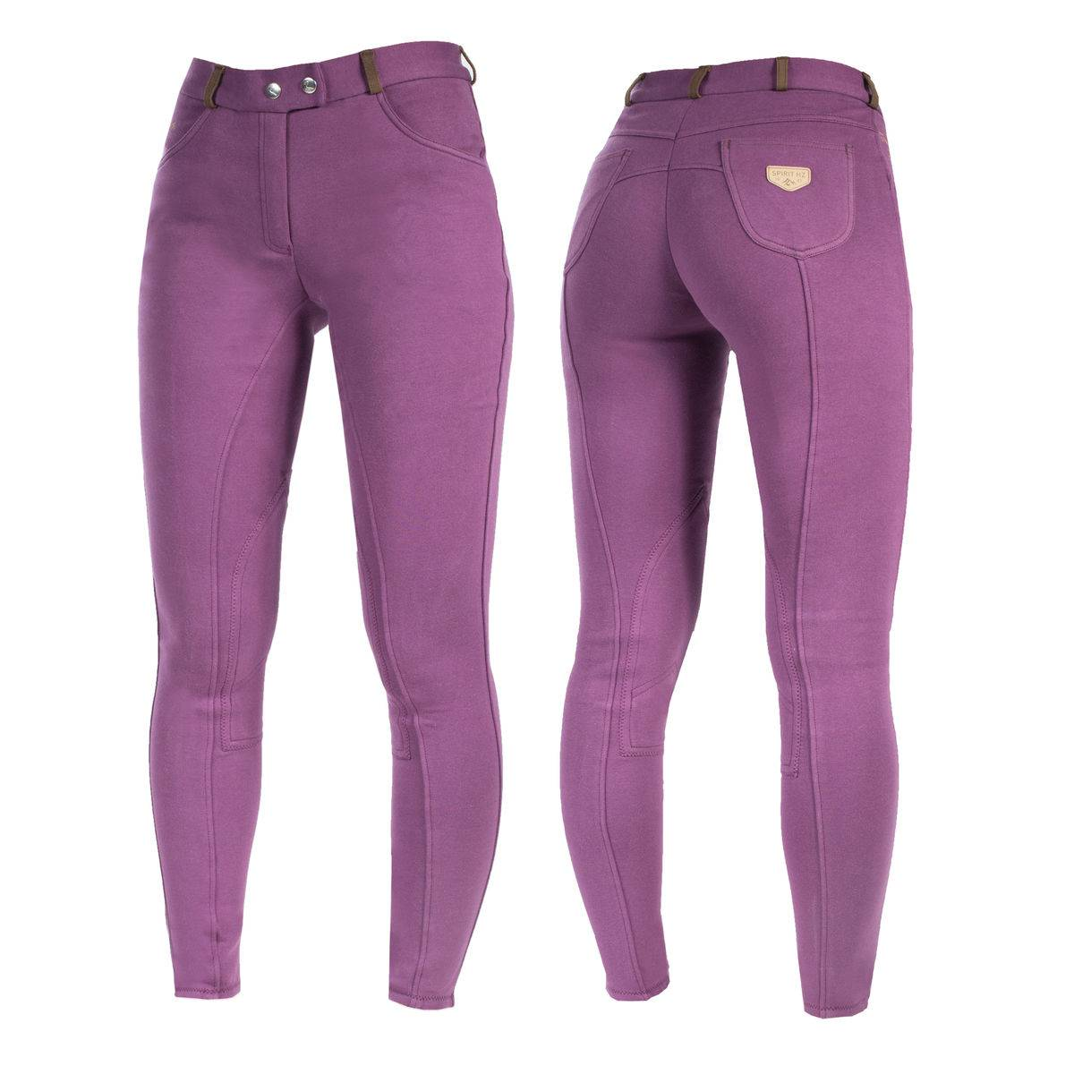 Horze Jennie Knee Patch Breeches - Ladies