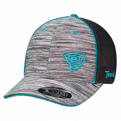 Twister Mens Heathered Logo Flexfit Hat