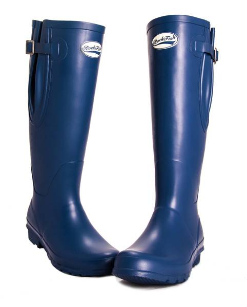 Rockfish Neoprene Lined Wellington Boots- Ladies