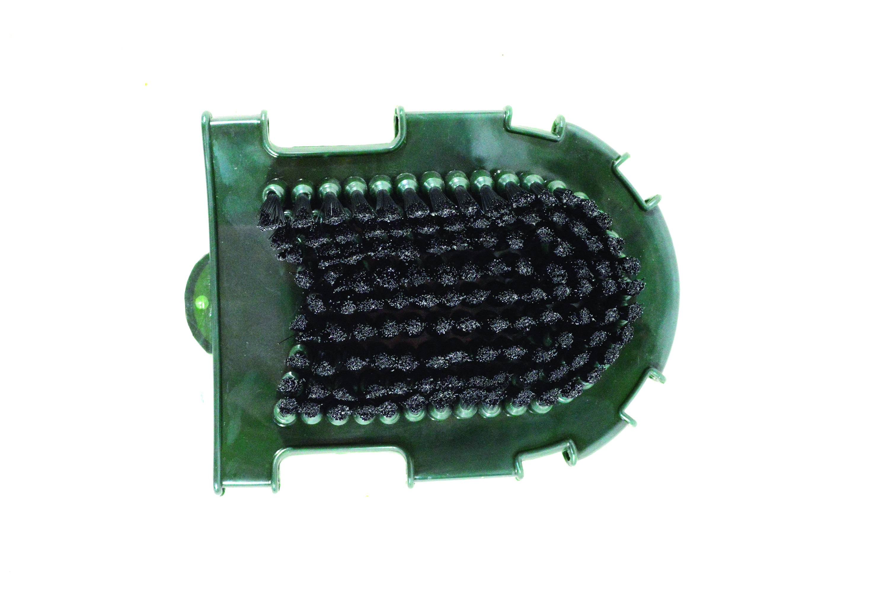 Partrade Bristle And Knobs Grooming Glove