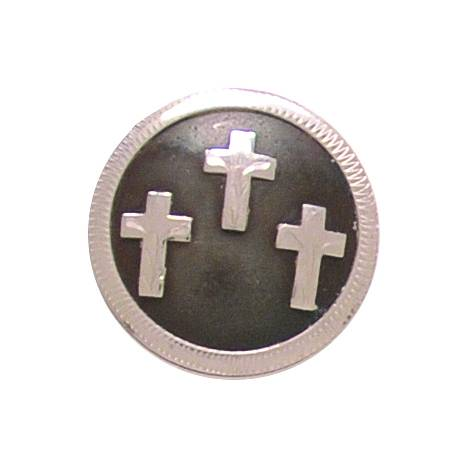 Partrade Cowboy Collection Three Crosses Concho