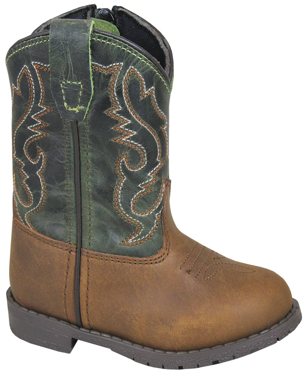 Smoky Mountain Hopalong Boots - Toddler - Brown
