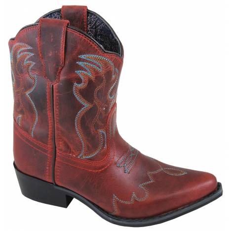 Smoky Mountain Juniper Boots - Youth - Red