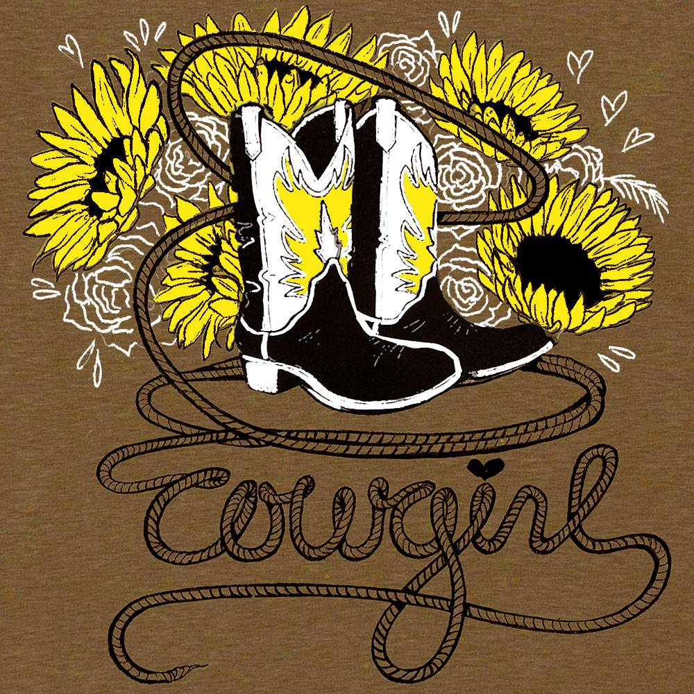 Sound Equine Cowgirl Tee Shirt- Ladies