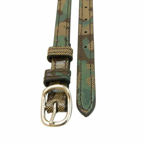 Intrepid Leather Animal Print Spur Straps