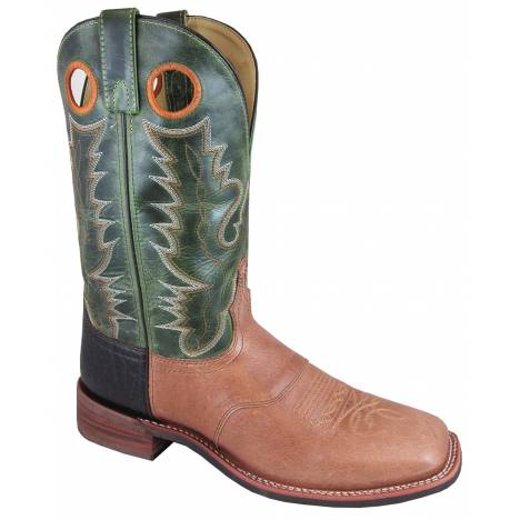 Smoky Mountain Ryan Boots - Mens - Green - Tan
