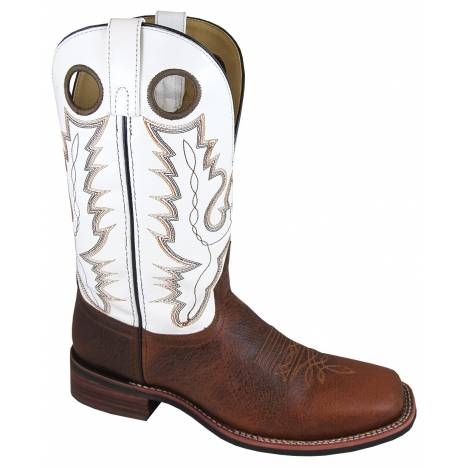 Smoky Mountain Blake Boots - Mens - White - Brown