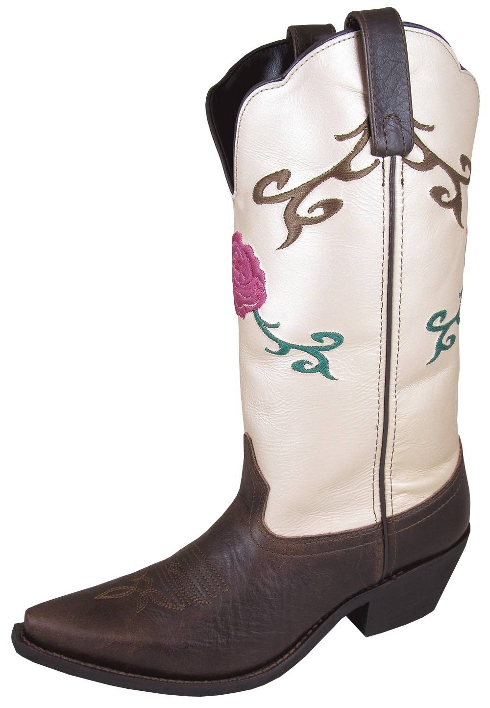 Smoky Mountain Lucky Boots - Ladies - Brown/Cream