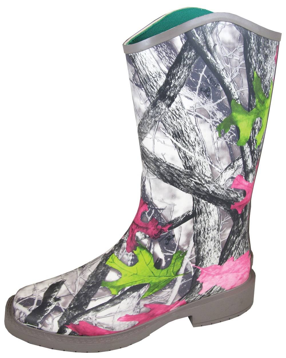 Smoky Mountain Oconee Boots - Ladies - Camo Pink