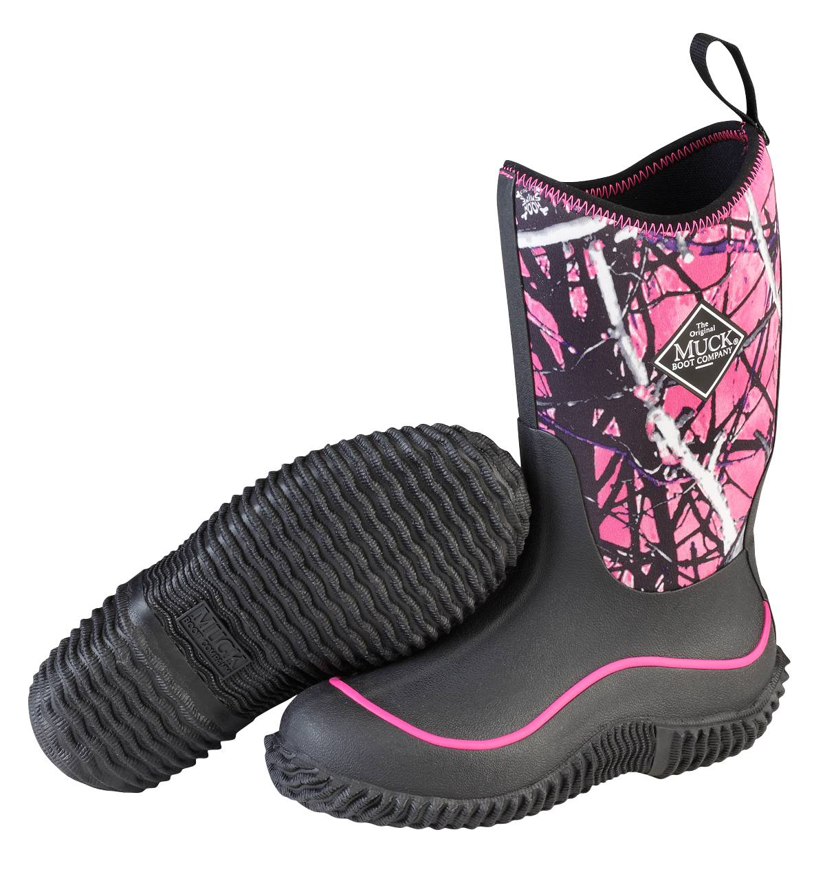 Muck Boots Hale Boots - Youth - Black Muddy Girl