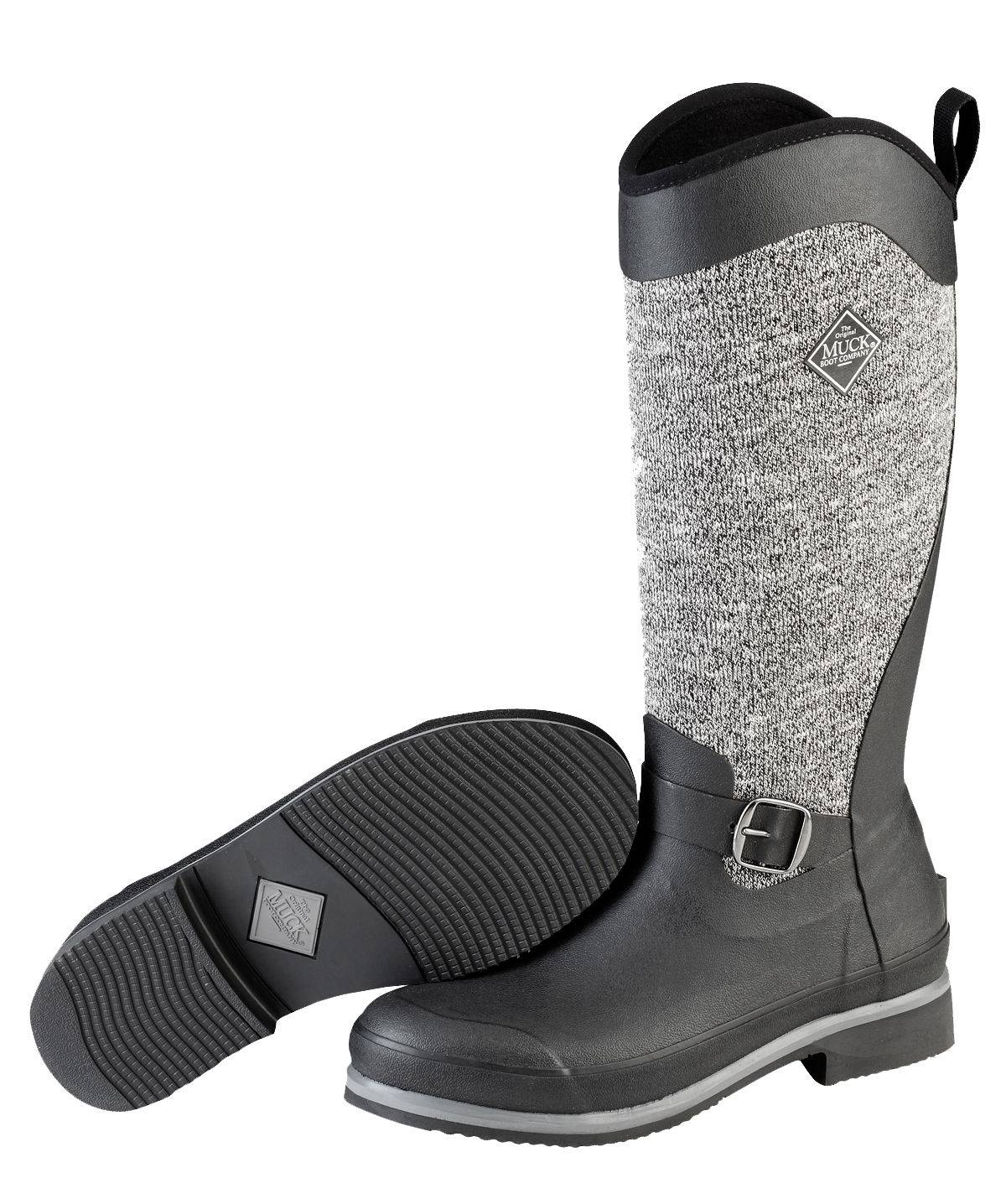 Muck Boots Reign Supreme Winter Boot - Ladies - Black Gray
