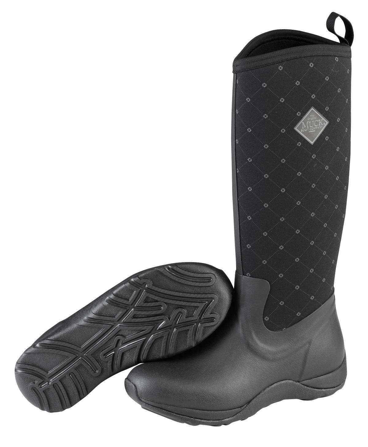 Muck Boots Arctic Adventure Boots - Ladies - Black Quilt