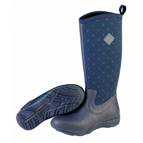 Muck Boots Arctic Adventure Boots - Ladies - Navy Quilt