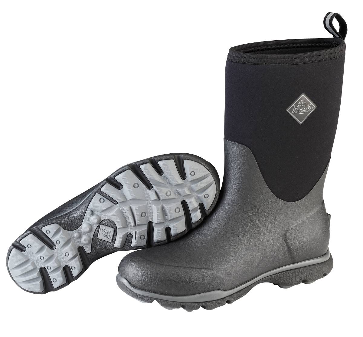Muck Boots Arctic Excursion - Mens - Black Gray