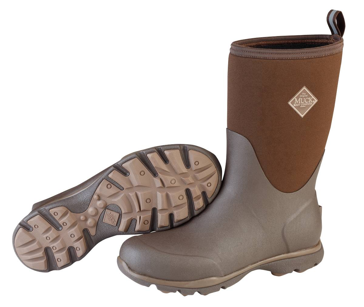 Muck Boots Zx Arctic Excursion Mid Boot - Mens - Chocolate Desert Palm