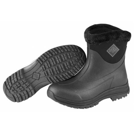Muck Boots Arctic Apres Slip-On Boots - Ladies - Black Charcoal