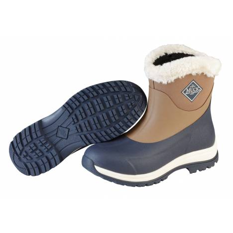 Muck Boots Arctic Apres Slip-On Boots - Ladies - Otter Navy Fog