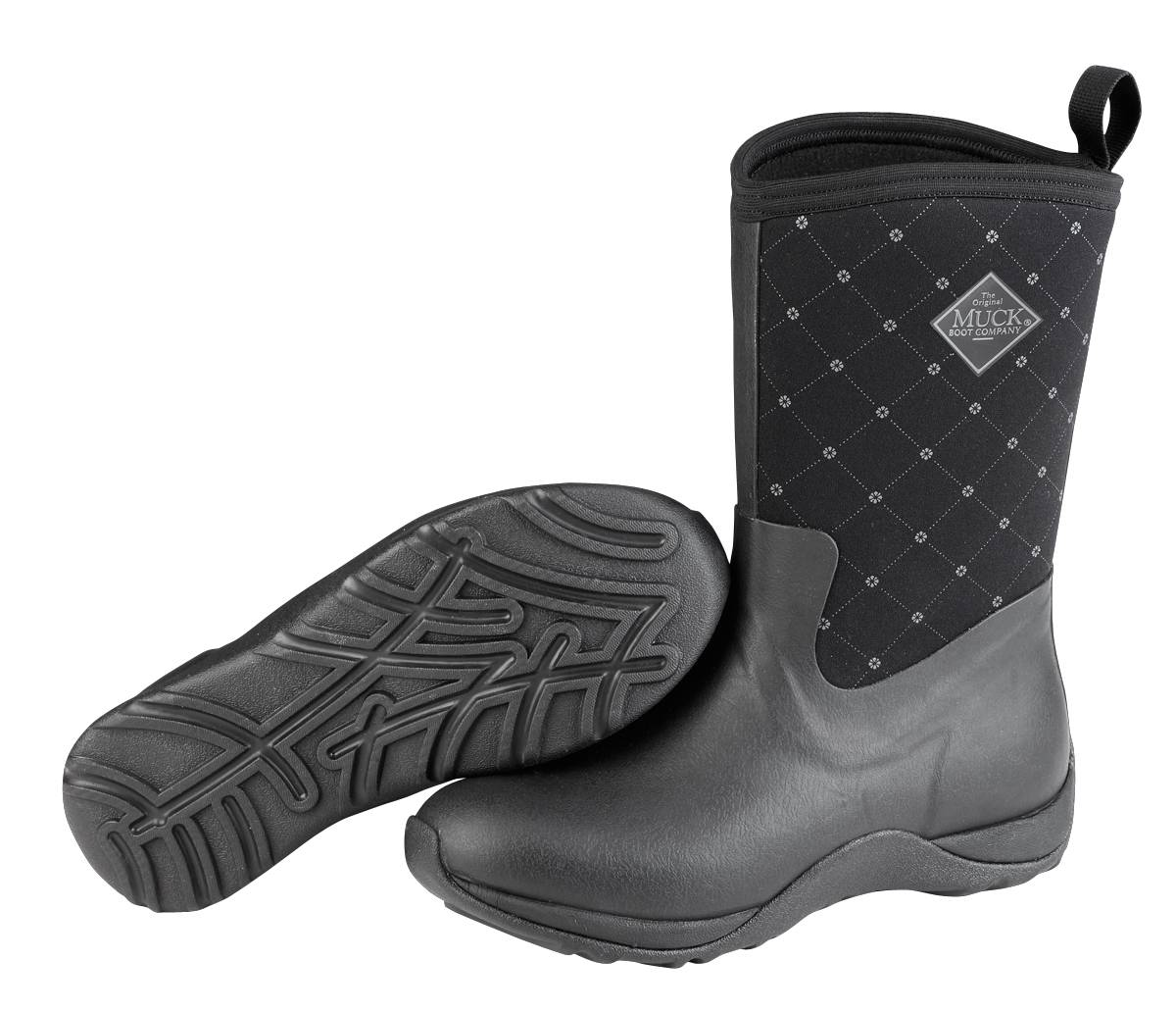 Muck Boots Arctic Weekend Mid-Height Boots - Ladies - Black Quilt
