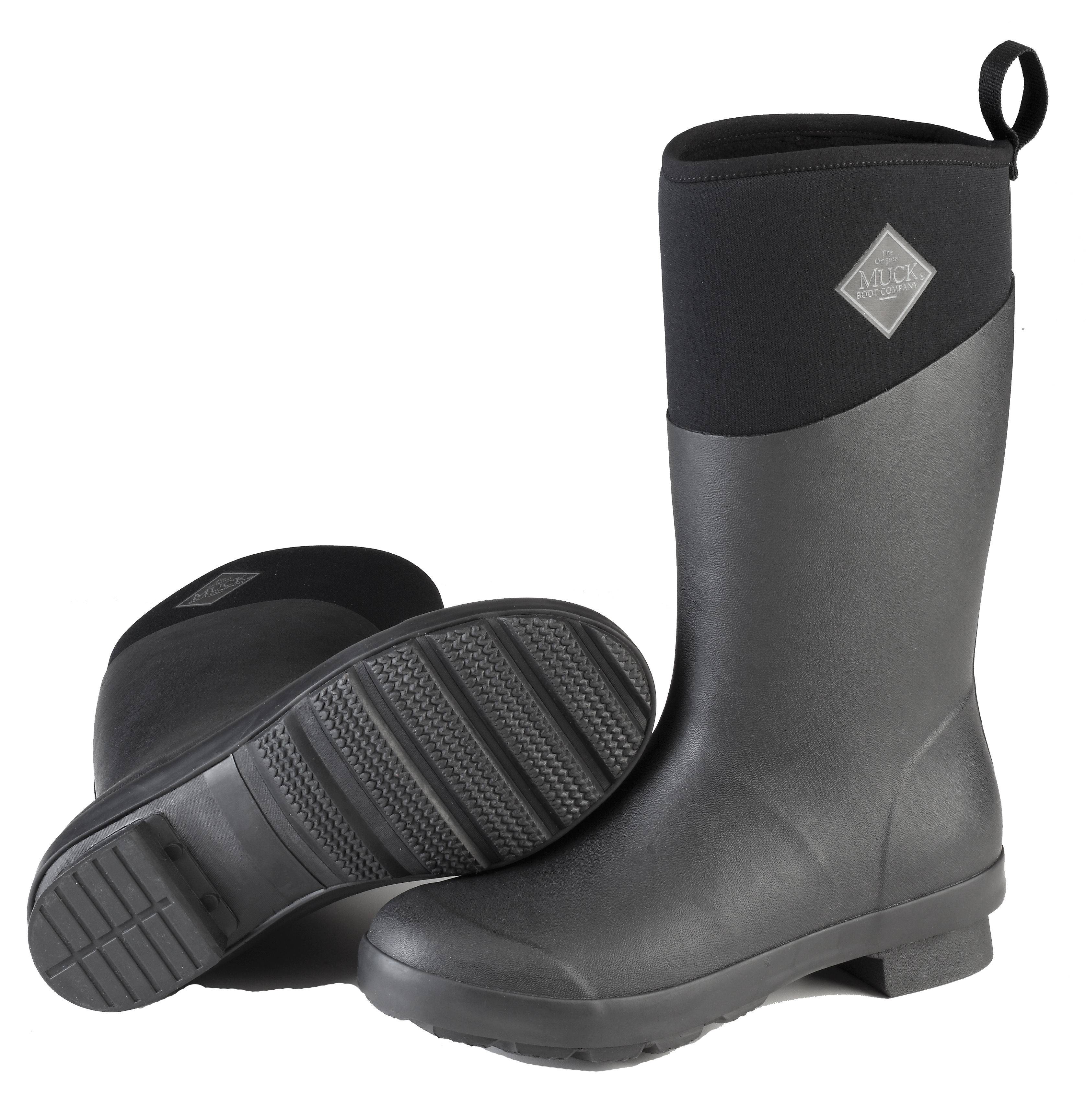 Muck Boots Tremont Mid Boot - Ladies - Black