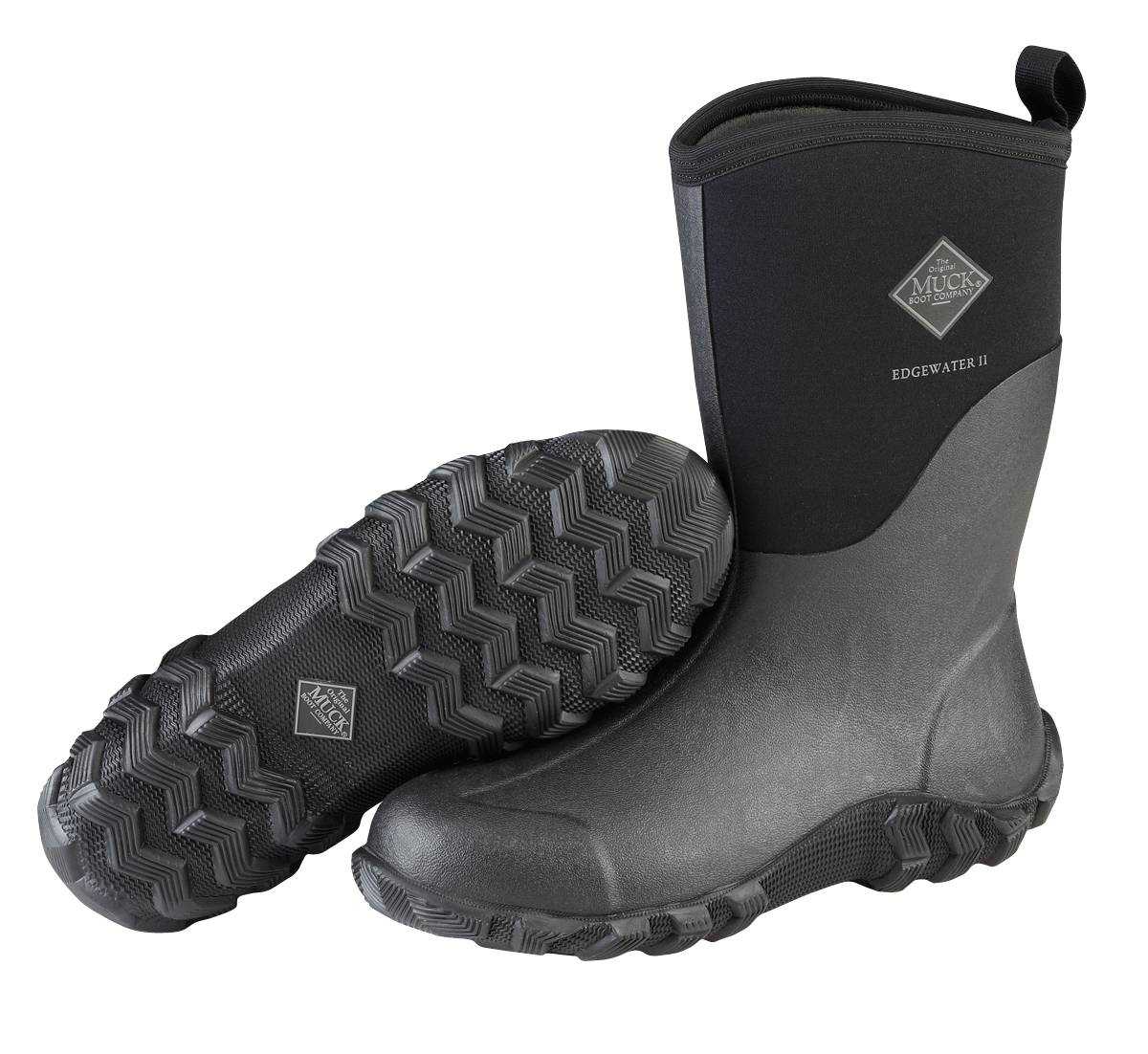 Muck Boots Edgewater II Mid Boot - Unisex - Black
