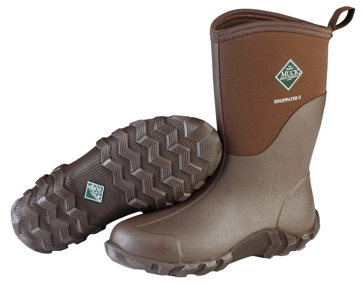 Muck Boots Edgewater II Mid Boot - Unisex - Chocolate Brown