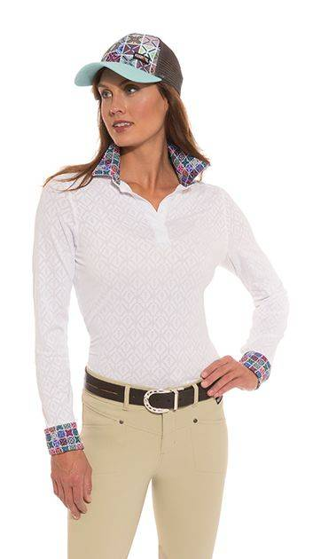 Kerrits Tailor Stretch Show Shirt - Ladies - Crossrails