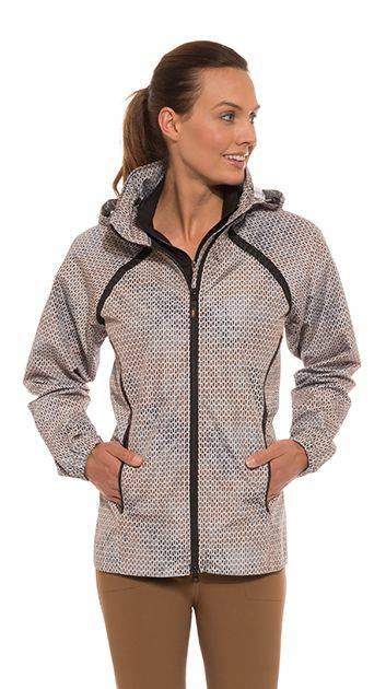 Kerrits Half Halt Rain Jacket - Ladies - Carrot Field