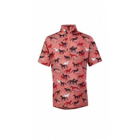 Kerrits Ice Fil Short Sleeve Shirt - Kids - Field of Horses